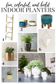 saturday shopping indoor planters love u0026 renovations