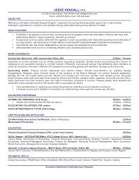 Cost Accounting Resume Cv Sample For Accountant Assistant