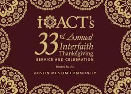 iact s 33rd interfaith thanksgiving service celebration