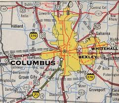 map of columbus columbus maps