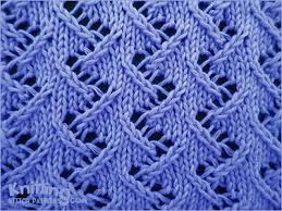zig zag knitting stitch pattern zig zag lace 2 knitting stitch patterns
