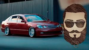 bagged lexus gs300 lexus gs300 stance youtube