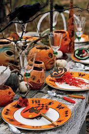 5 hauntingly beautiful halloween tablescapes nonagon style