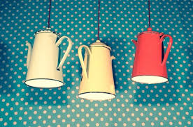 Funky Kitchen Lighting by She Takes A Rusty Old Strainer And Transforms It Into A Rustic