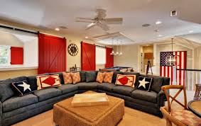 American Flag Living Room by Happy 4th Of July Interiors Inspired By Red White U0026 Blue