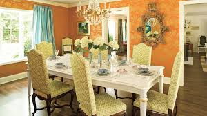 Different Color Dining Room Chairs Stylish Dining Room Decorating Ideas Southern Living