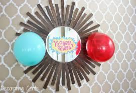 decorating cents yo gabba gabba birthday party