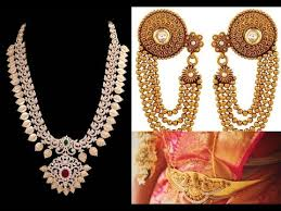 bridal gold jewellery designs indian style