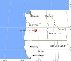 prineville oregon map my