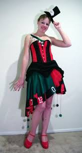 las vegas costumes 2 pc lady luck costume includes roulette wheel dress with dice