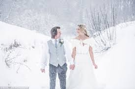 and white wedding their fairytale snowmance at the alnwick garden