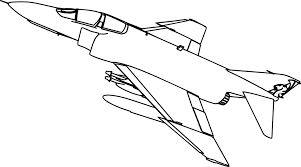 phantom king plane coloring page sheet wecoloringpage