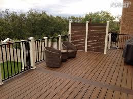 trex cedar hardwood u0026 pvc decks aurora toronto forest fence