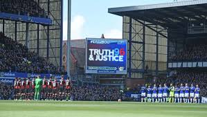 Top Balcony Goodison Park by Hillsborough Tribute Everton Pay Respects To 96 Liverpool Fans