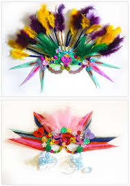 diy mardi gras masks last minute mardi gras masks for kids and adults craftfoxes