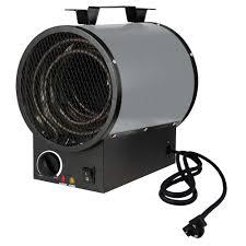 Portable Garage Home Depot King 240 Volt 4000 Watt Portable Shop Heater In Gray Pgh2440tb