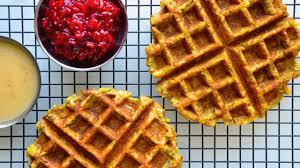 thanksgiving recipe leftover waffles