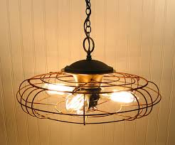 Fan Lighting Fixtures Diy Lighting Upcycling Household Products To Light