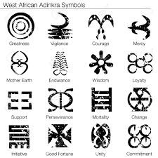 15817214 an image of a west african adinkra symbols stock vector