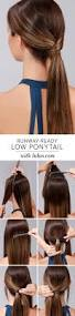 10 easy ponytail hairstyles long hair style ideas 2016 2017