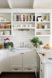 shelving ideas for kitchen all time favorite white kitchens southern living
