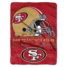 49ers Bed Set San Francisco 49ers Bedding Blankets Sheets Pillows Towels