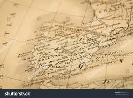 World Map Spain by Antique World Map Spain Portugal Stock Photo 334124114 Shutterstock