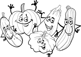 autumn coloring pages autumn scene with scarecrow coloring page