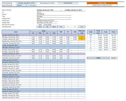 excel templates free template for inventory employee time sheet