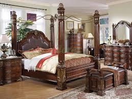 Elegant Queen Bedroom Furniture Sets Queen Bedroom Bedroom Set Queen Bed W Leather Headboard Night