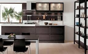 wooden kitchen designs modern dark wood kitchen designs