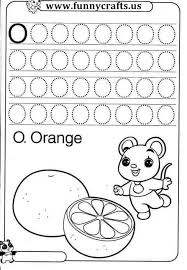 all worksheets letter o worksheets for kindergarten printable