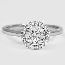 halo engagement rings simple halo engagement rings 11931