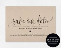 save the dates etsy il wedding invitation ideas