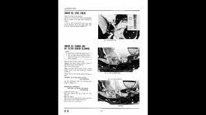 honda atc 200s 84 86 service manual 1of2 youtube