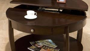 enthrall multifunction pallet coffee table with storage slide out