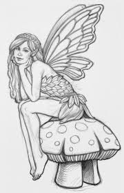 Beautiful Fairies by Detailed Coloring Pages For Adults Beautiful Fairy To Print And