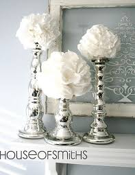 top silver and white decoration ideas