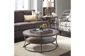 ashley furniture glass top coffee table ashley furniture round coffee table image collections table design
