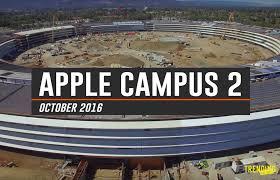 apple campus 2 the u0027spaceship campus u0027 is almost complete