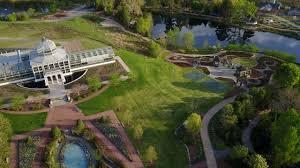 lewis ginter botanical garden aerial tour youtube