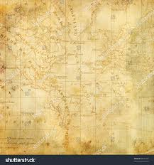 The Americas Map Background Old Map Americas Page Design Stock Illustration