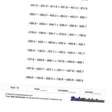 round each number to the nearest thousand worksheet rounding