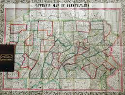 Map Pennsylvania by 1850 U0027s Pennsylvania Maps