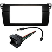 amazon com bmw stereo wiring harness dash install kit