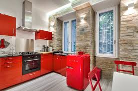 exemple de cuisine cuisine exemple de cuisine avec ilot central avec beige couleur