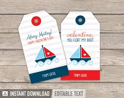 Nautical Themed Giveaways - valentine u0027s day tags printable nautical theme my party design