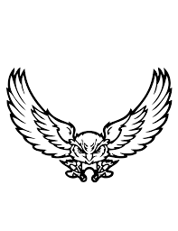best hd cartoon owl flying free clipart design