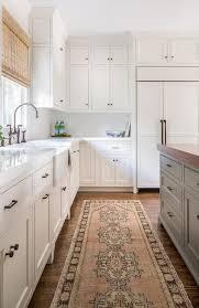 Kilim Rug Runner Pink And Brown Kilim Kitchen Runner Transitional Kitchen