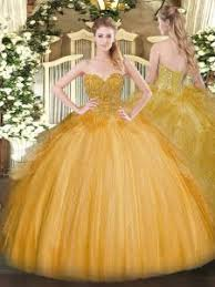 gold quince dresses gold quinceanera dresses 2018 for less